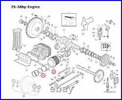 VW TYPE 1 BUG GHIA BUS 36HP BIG BORE 81mm PISTON & CYLINDER KIT VINTAGE SPEED