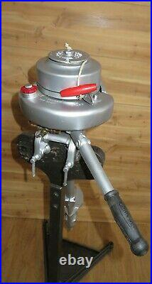 Vintage 1940 1.5hp Johnson Outboard MS-15 Antique Outboard