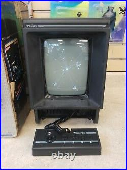 Vintage 1982 Vectrex Video Arcade Game System Console Model # HP-3000 with Box