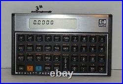 Vintage 1985 HP 15C Programmable Scientific Calculator with Slip Case Rare VHTF