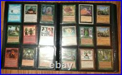 Vintage Binder Lot of 99 Magic The Gathering MTG Great Cards LP to HP