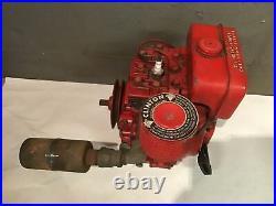 Vintage Clinton 100-2120 2 1/2 HP Engine With 5/8 Keyed Shaft Go Kart Mini Bike