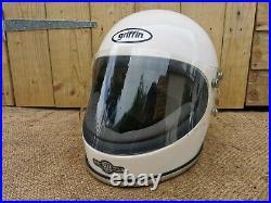 Vintage Griffin Club Man Hp 1970s Motorsports Helmet