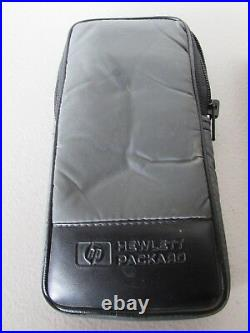 Vintage HP 48GX Graphing Calculator 128KB Ram 1993 Clean Battery Tray OEM Case