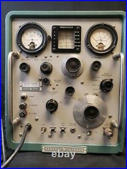 Vintage HP 608D VHF Signal Generator Hewlett Packard HAM Radio Test Equipment