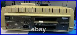 Vintage HP 85 desktop computer with 16K RAM cartridge working