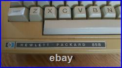 Vintage HP 85B Powers on and displays! Printer works