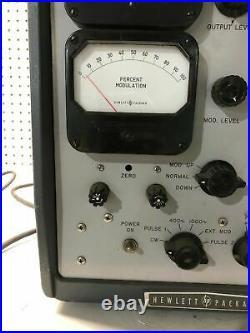 Vintage HP Hewlett Packard UHF Signal Generator Model 612A COOL HAM RADIO PROP