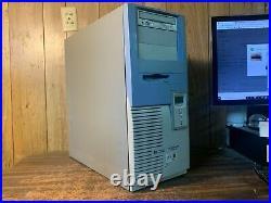 Vintage HP Kayak XM 600 Computer P3 CPU RS232 Parallel AGP 9 Pin 256mb Floppy
