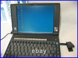 Vintage HP OmniBook 800ct 10 Laptop Notebook Tested Computer Windows 95 Rare