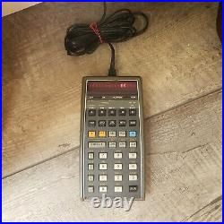 Vintage Hewlett Packard 65 Calculator HP in working condition & adopter/charger