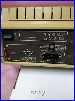 Vintage Hewlett-Packard 85A HP Desktop Computer HP85A Works Good Printer Works
