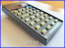 Vintage Hewlett Packard HP 34C Calculator Programming RPN WORKING! Top Rare