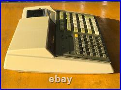 Vintage Hewlett Packard HP 97 Calculator Powers On