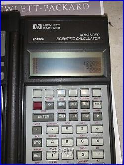 Vintage Hewlett Packard HP28S HP 28S Scientific Calculator Works! New Batteries