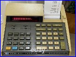 Vintage Hewlett-Packard HP92 Financial Calculator Collector Quality Bundle