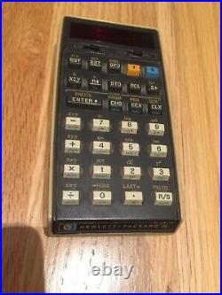 Vintage Hewlett Packard Model 25 Calculator
