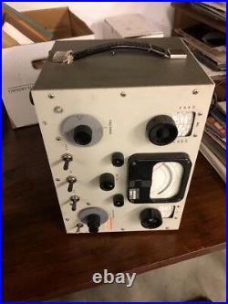 Vintage Hewlett Packard Radio Q Meter Type HP 190 A Ham Radio Instrument Rare