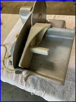 Vintage Hobart Commercial Electric Deli Meat Slicer Model 410 1/8 HP MADE IN USA