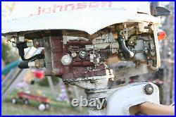 Vintage Johnson Outboard 3HP Seahorse model JW18R