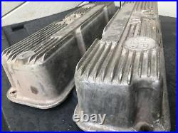 Vintage M/t Mickey Thompson Ford Mercury 427 H/p Valve Covers Ford Fe 3923800