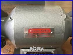 Vintage NOS NEW Porter Cable 547 1/2 HP Grinder 7 3450 RPM 120V NEVER USED