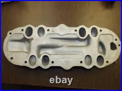 Vintage Original EDELBROCK Ford Flathead V8 60hp Aluminum 2x2 Intake Hot Rod
