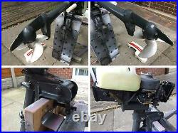 Vintage Outboard Engine Yamaha P45 2hp 2 Stroke Engine, Dingy Motor