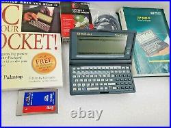 Vintage Rare HP 200LX Palmtop Handheld Pocket PC 4MB RAM Double Speed DOS PDA