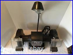 Vintage Sears Craftsman 1 HP Industrial Rated 8 Bench Grinder Model 257.192190