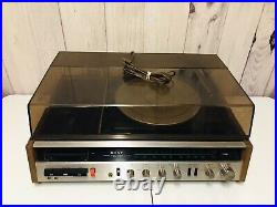 Vintage Sony HP-219A Radio FM/AM Turntable Record Cassette Player Music System