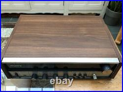 Vintage Sony Sound System, STR160a Receiver, SP160 Record Deck, SS160 Speakers