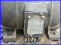 Vintage Walker Turner Electric Motor 1 Phase 1/2hp 1725 RPM