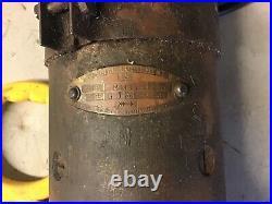 Vintage rover 12/14/16 hp Lucas starter motor m418g type 255666 12/37