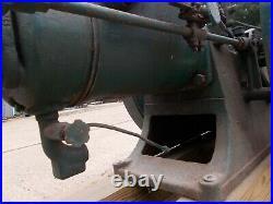 Vintage stationary engines 3hp open crank hit miss sandwich