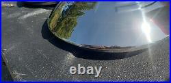 Vw volkswagen vintage bug bus oval split window ghia kdf hubcaps chrome 4 36 hp