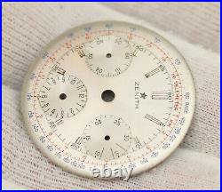 Zenith 146HP 156HP Vintage Chronograph Watch Singer Dial Ø31.3mm